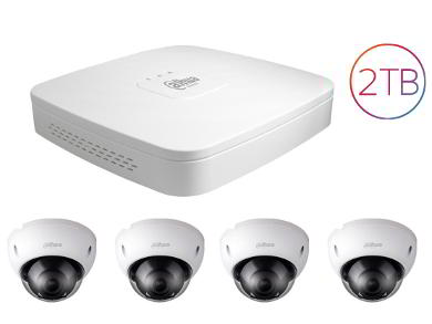 4 Security Camera kit