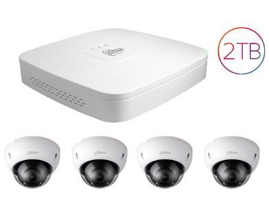 4 Security Camera kit