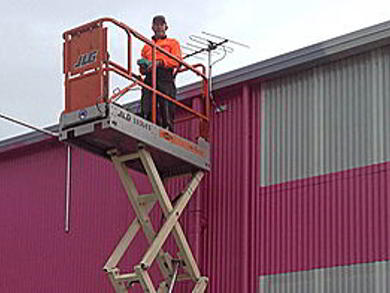 Factory Security System Installation