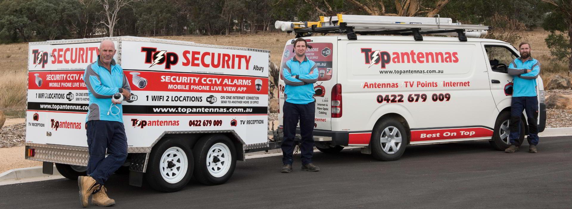 Top Security Albury - Header